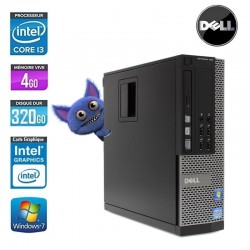 DELL OPTIPLEX 790 I3 SFF CORE I3 2100 3.3GHZ 4GO 320 GO