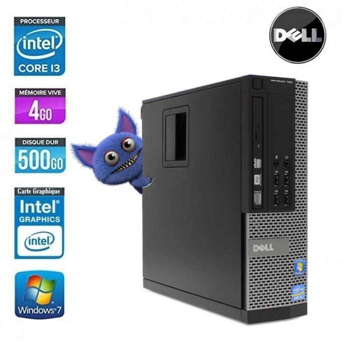 DELL OPTIPLEX 790 I3 SFF CORE I3 2120 3.3GHZ 4GO 500GO