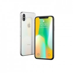 Apple iPhone X 64 Go Argent Grade C