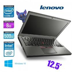 LENOVO THINKPAD X250 CORE I7 5600U 2.6Ghz 8GO 500GO