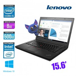 LENOVO THINKPAD T560 CORE I5 6300U 2.4Ghz - GRADE B