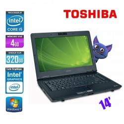 TOSHIBA TECRA M11-12U CORE I5 M520 2.4GHZ - GRADE B