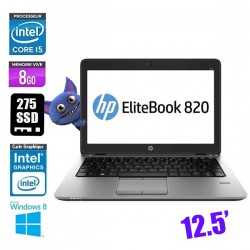 HP ELITEBOOK 820 G1 CORE I5 4310U 2.0GHZ - GRADE B