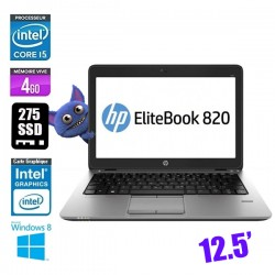 HP ELITEBOOK 820 G1 CORE I5 4310U 2.0GHZ - GRADE C