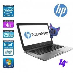 HP PROBOOK 640 G1 CORE I5 4210M 2.6GHZ - GRADE C