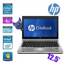 HP ELITEBOOK 2570P I5 3210M 2.5GHZ - GRADE C