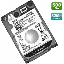 "HDD 500 Go 2.5"" WESTERN DIGITAL"