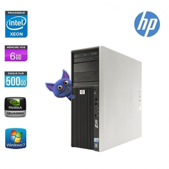 TOWER HP WORKSTATION Z400