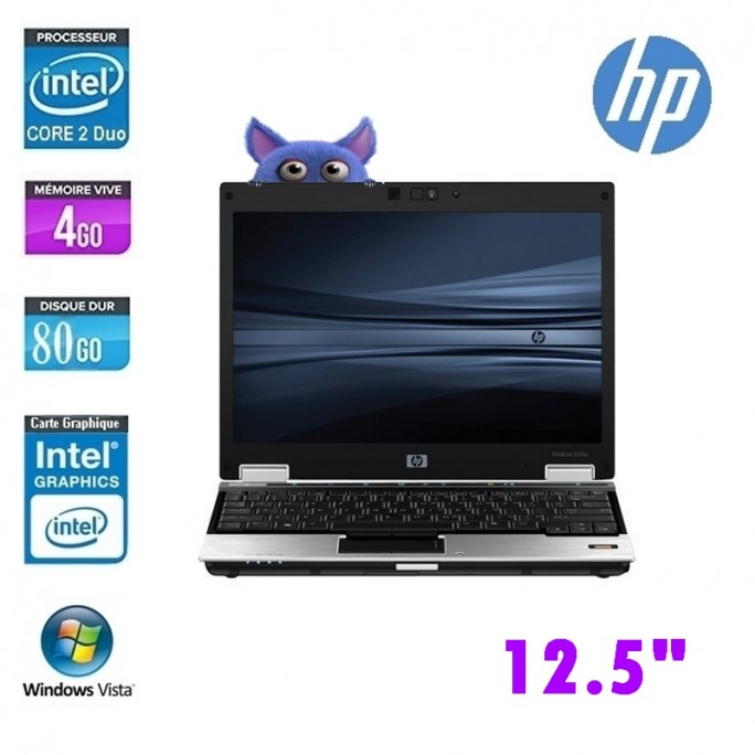 HP ELITEBOOK 2530P CORE 2 DUO L9400