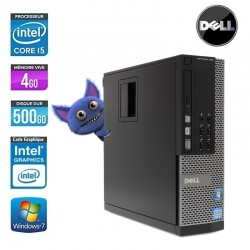 DELL OPTIPLEX 790 SFF CORE I5 2400 3.1GHZ 8GO 256Go SSD