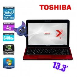 TOSHIBA SATELLITE L735-109 PENTIUM P6200 2.13Ghz