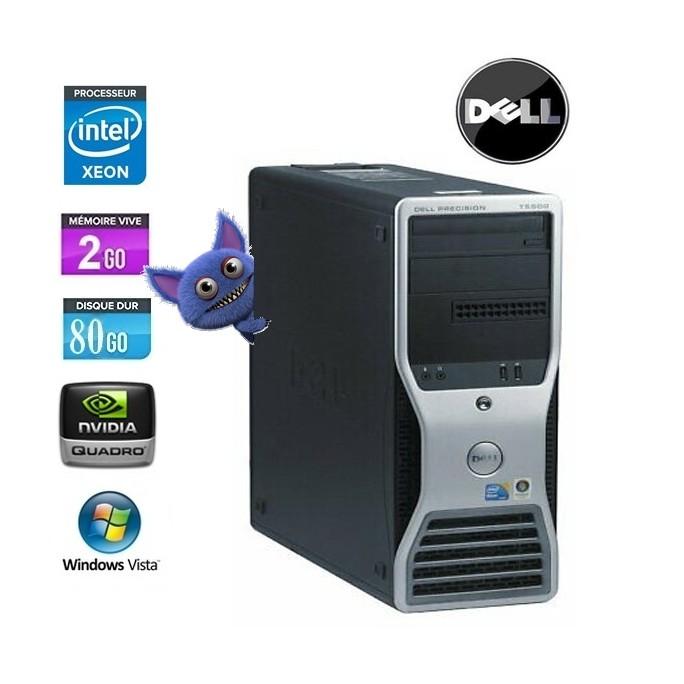 DELL PRECISION T5500 XEON E5504 - 2.0Ghz