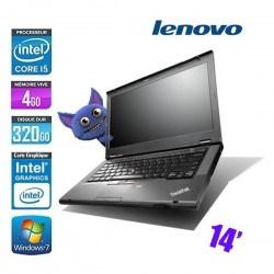 LENOVO THINKPAD T430 CORE I5 3320M 2.6GHZ - GRADE B