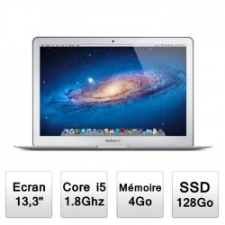 "MACBOOK AIR 13"" i5 1.8GHz - 128Go SSD 4Go RAM - MI 2012"