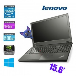LENOVO THINKPAD W541 CORE I7 4600M 2.9Ghz