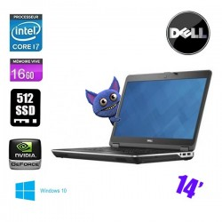DELL LATITUDE E5480 CORE I7 7820HQ 2.9 Ghz