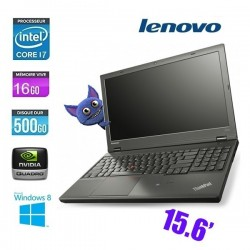 LENOVO THINKPAD W540 CORE I7