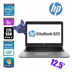 HP ELITEBOOK 820 G2 I5 5300U 8GO 275SSD