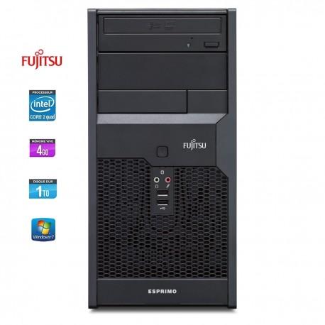 Fujitsu ESPRIMO P2560 - Core 2 Quad Q8300 2.5 GHz - 4 Go - 1 To